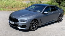 Our Test Drive: the BMW 840i Gran Coupe M-Sport