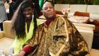 Bozoma Saint John and André Leon Talley: Vogue in Paris paid for his apartment, his restaurant and dry-cleaning bills, and a personal assistant who doubled as his on-call driver. Photograph: Bryan Bedder/Getty Images