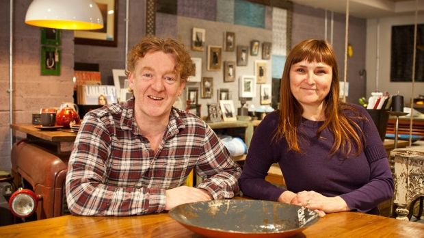 Ed Donnelly and Laury Poisson, founders of Home Street Home. Photograph: Michael Donnelly