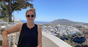 Ruth Gallagher on her recent break from Athens in Santorini, Greece