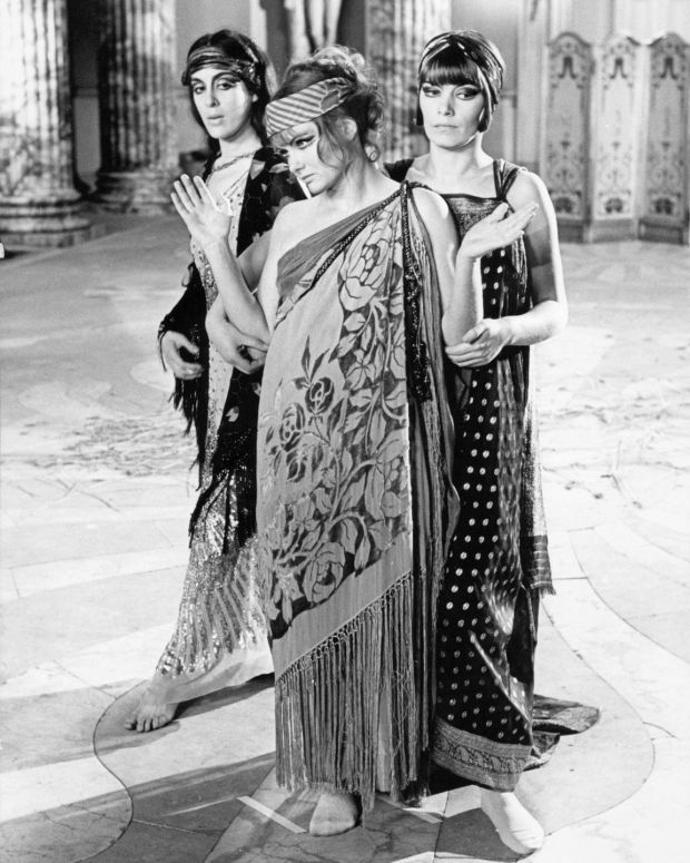 From left, Eleanor Bron as Hermione Roddice, Jennie Linden as Ursula Brangwen and Glenda Jackson as Gudrun Brangwen, in Women in Love, directed by Ken Russell. Photograph: Silver Screen Collection/Getty Images