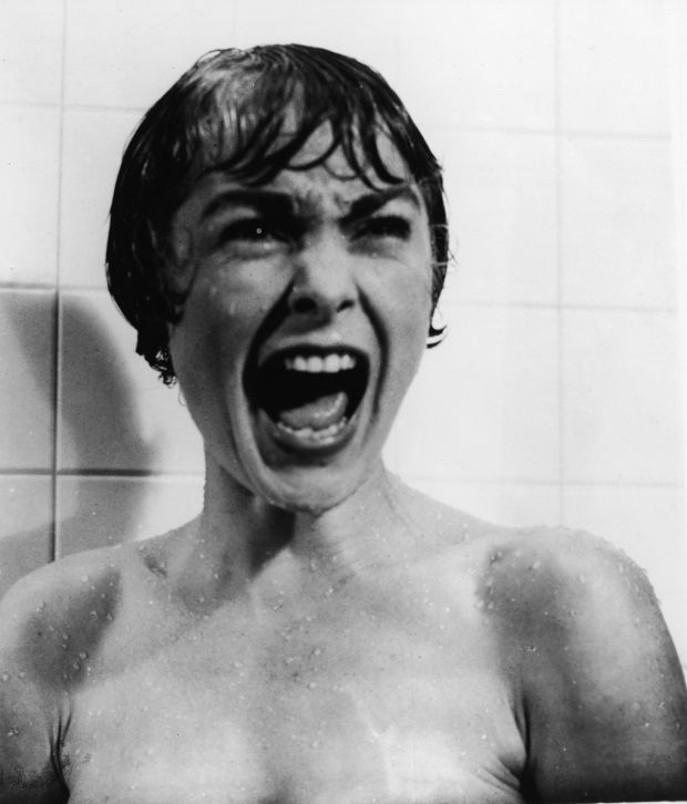 Janet Leigh in Psycho, directed by Alfred Hitchcock, 1960. Photograph: Paramount Pictures/Courtesy of Getty Images