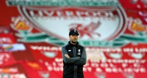Liverpool manager Jürgen Klopp: 'We feel in the middle of something, not the end of something.' Photograph: Shaun Botterill/NMC Pool/PA Wire
