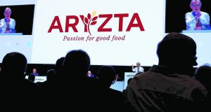 Shares in Aryzta are down more than 85% from when the company raised about €800m in an emergency share sale in late 2018. Photograph: Reuters