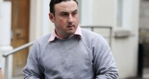 Aaron Brady: Pleaded not guilty to the murder of Det Garda Adrian Donohoe. Photograph: Collins