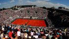 Up to 60 per cent of the usual capacity will be allowed inside Roland Garros for this year's postponed French Open. Photograph:  Clive Brunskill/Getty