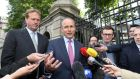 The refusal of Jim O'Callaghan to accept a junior ministerial post after his failure to make the Cabinet has contributed to the uncertain mood in Micheál Martin's Fianna Fáil. Photograph: Sam Boal/RollingNews.ie