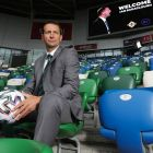 Ian Baraclough steps up from Northern Ireland Under-21s to take over the senior side. Photograph: Kelvin Boyes/Inpho