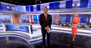 David McCullagh and Caitriona Perry who will begin presenting RTÉ Six One News in September 2020. Photograph: RTÉ