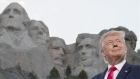 Trump rails against 'new left fascism' at Mount Rushmore rally
