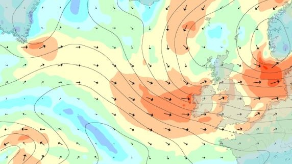 'Unseasonably windy' weather set to buffet country - irish times
