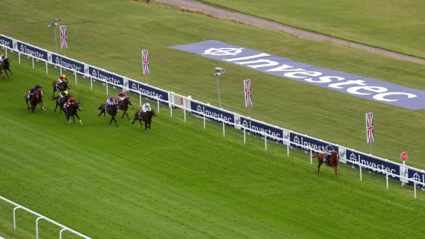 Serpentine and Emmet McNamara lead them home in the Epsom Derby. Photograph: David Davies/PA