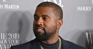 US rapper Kanye West says he is challenging Donald Trump for the US presidency in 2020. Photograph: Angela Weiss/AFP