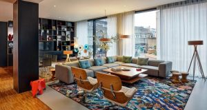 CitizenM's hotel in Glasgow: the company is planning to build its first Irish property in central Dublin, near St Patrick's Cathedral.