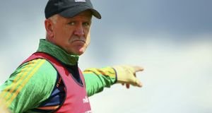 John Maughan is preparing for Offaly's return to action. Photograph: Ken Sutton/Inpho