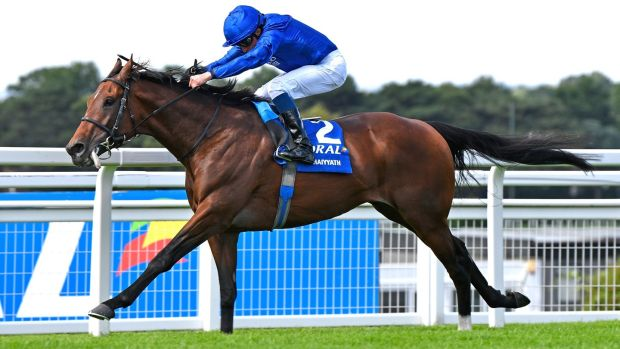 Ghaiyyath was an impressive winner of the Coral-Eclipse at Sandown under William Buick. Photograph: Francesca Altoft/Getty