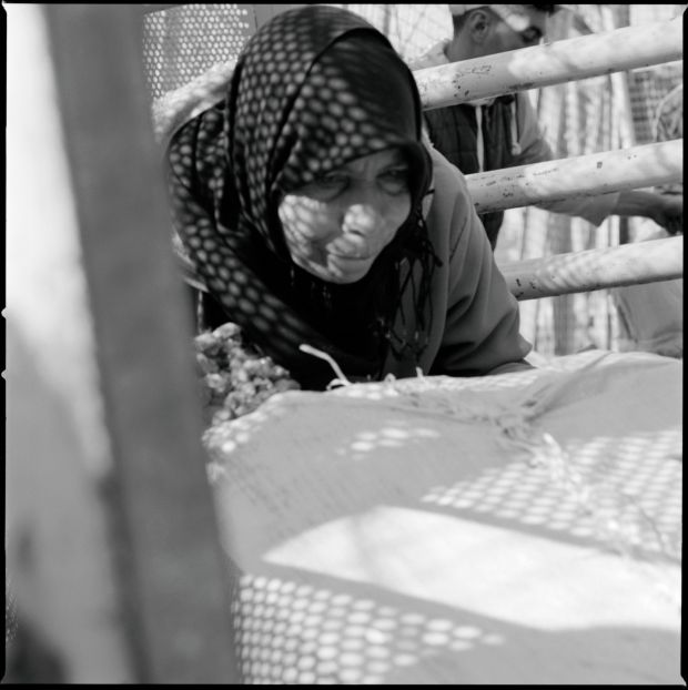 Women are used by smugglers to carry bundles across the Spain-Morocco border of up to 80kg.