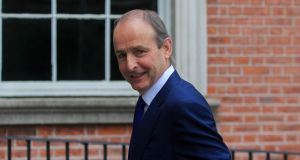 What is very important now is that we do not undo the good work to date, the Taoiseach Micheál Martin said afterwards. Photograph: Gareth Chaney/Collins
