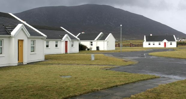 Holiday homes on Achill Island. The self-catering sector has been dealt another blow by the exit of British operator Cottages.com from the Irish market.  Photograph: Cyril Byrne