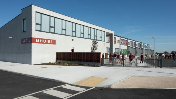 Scoil Mhuire National School in Monivea, Co Galway, designed by SJK architects.