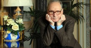 Ennio Morricone at home in Rome, 2006. Photograph: Chris Warde-Jones/The New York Times
