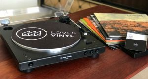 Win a 3-month LovesVinyl record club subscription + Bluetooth turntable