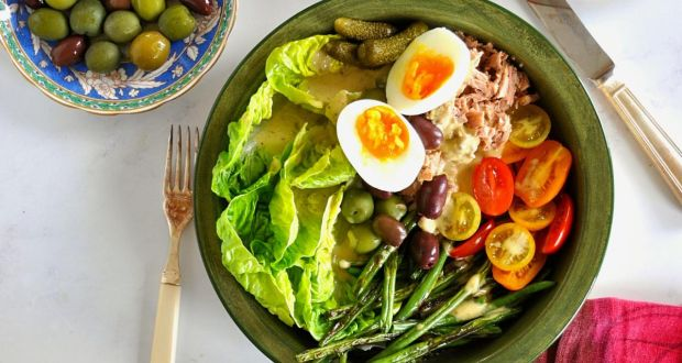 Niçoise salad – why not add potatoes and green beans