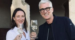 Avril Kirrane and Johnny McMorrough of Boutique Wines.