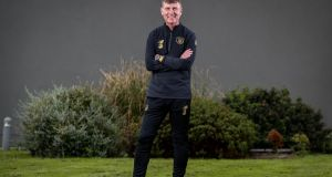 New Republic of Ireland boss Stephen Kenny and his coaching set-up will be based at Abbotstown. Photograph: Ryan Byrne/Inpho