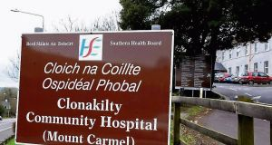 A concerned relative contacted the HSE claiming that infection controls were not being followed at Clonakilty Community Hospital.
