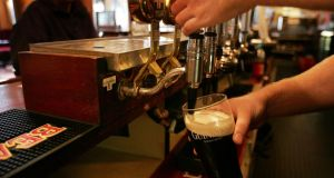 Gardaí found customers consuming alcohol in a small number of pubs where there was no evidence of food also being consumed and no evidence of receipts to show that food had been sold. File image: The Irish Times.