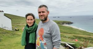 Annie Birney and Eoin Boyle  were selected out of 42,000 applicants for a once-in-a-lifetime job on the Great Blasket Island.