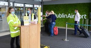 Dublin Airport: If the last Government was so adamant that nobody must fly, why did it let airlines continue to sell tickets? Photograph: Dara Mac Dónaill