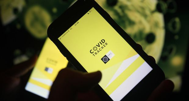 The Covid Tracker Ireland app has been downloaded more than 1 million times since it was released in the Apple and Android app stores on Monday evening. Photograph: PA Wire