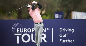 Gavin Moynihan carded a bogey-free 69 in the first round of the Austrian Open. Photograph: Aitor Alcalde/Getty Images