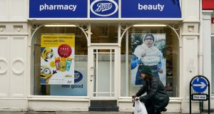 Boots said it would close 48 of its opticians shops and restructure its headquarters, shedding 4,000 jobs. Photograph: Ian Forsyth/Getty Images