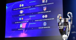 The Champions League draw was made on Friday. Photo: Harold Cunningham/UEFA/AFP via Getty Images