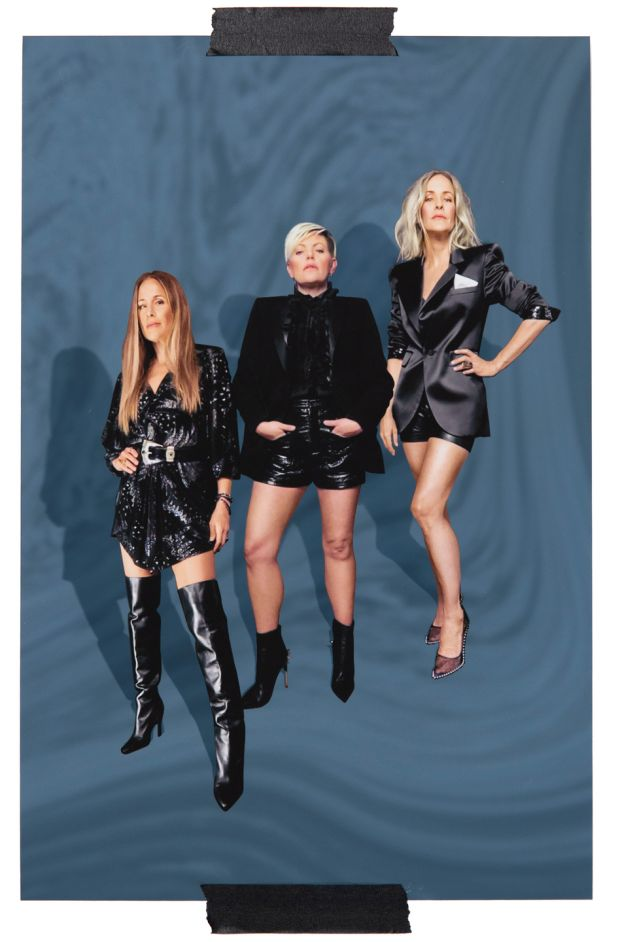 Emily Strayer, Natalie Maines and Martie Maguire of the Chicks. Photograph: Sam Cannon/The New York Times