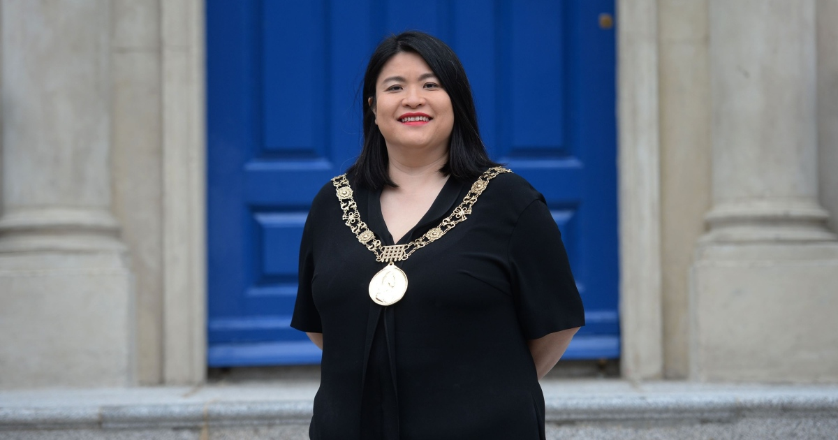 Hazel Chu, the new Lord Mayor of Dublin. Photograph: Alan Betson
