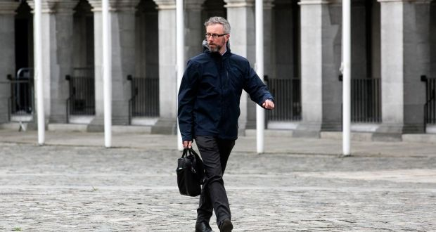 Minister for Children, Disability, Equality and Integration Roderic O'Gorman. The Green Party TD found himself a prominent target for online abuse this week. Photograph: Sam Boal/Rollingnews.ie