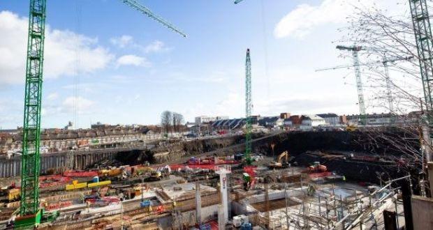The Taoiseach had said builders should 'get back on site and start building the children's hospital because the children of this country need it'. Photograph: Tom Honan
