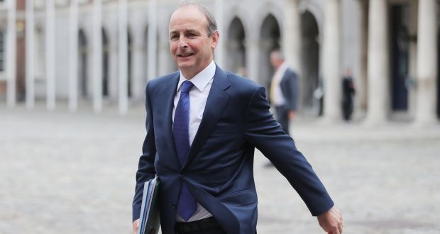 Taoiseach Micheal Martin has said relations between Britain and Ireland had been damaged during the Brexit process and needed to be improved upon. Photograph: Niall Carson/PA Wire