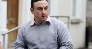 Aaron Brady, from New Road, Crossmaglen, Co Armagh, has pleaded not guilty to the capital murder of Det Garda Donohoe. File photograph: Collins.