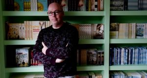 John Boyne: The best-selling author, speaking through his various conduits, has a serially unmusical voice in his new novel. Photograph: Alan Betson
