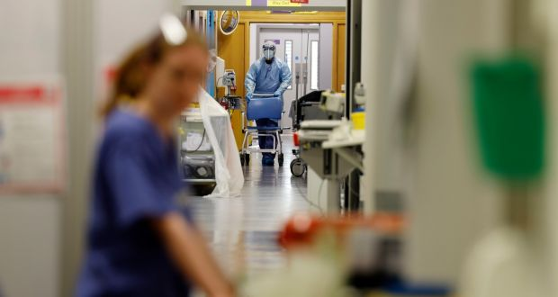 The HSE submission, made in recent days, said as of June 27th, healthcare workers accounted for 8,260 of the 25,874 Covid -19 cases reported, or 31.9 per cent. Photograph: Alan Betson
