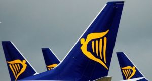 The Ryanair flight was scheduled to travel from Krakow to Dublin.