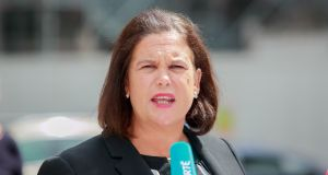 President of Sinn Féin Mary Lou McDonald has said extending parent's leave is 'not enough'. Photograph: Gareth Chaney/Collins