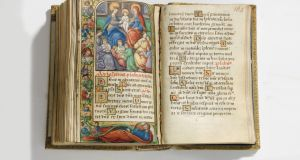 Mary Queen of Scots prayerbook, Christie's, £250,000 - £350,000.