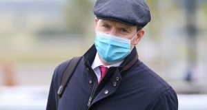 Champion trainer Aidan O'Brien pictured at the Curragh for the 2,000 Guineas in June. Photograph:  Caroline Norris/Inpho