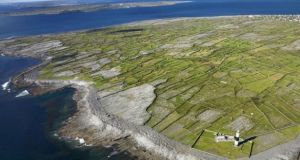 The Aran Islands: Catherine Connolly TD said ferries were arriving on the Aran Islands  'with quite a number of passengers not wearing masks, and chaos on the quays, with nobody monitoring the situation'.
